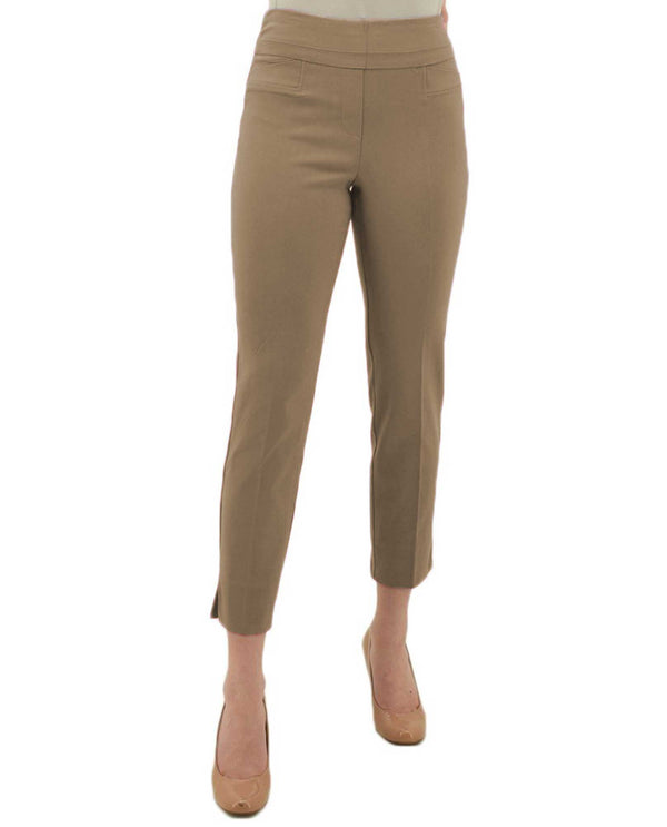 Renuar r1542 ankle pants fashion colors fawn