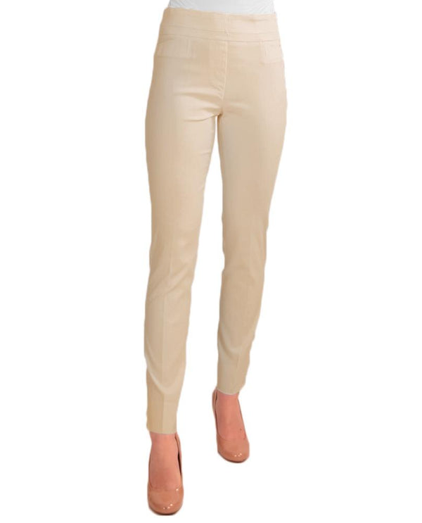 Sand Renuar R1721 Paris Cigarette Skinny Pull on Pants with slimming waistband for smoothing