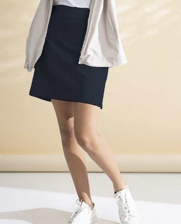 Renuar R2506L Skort Midnight Navy