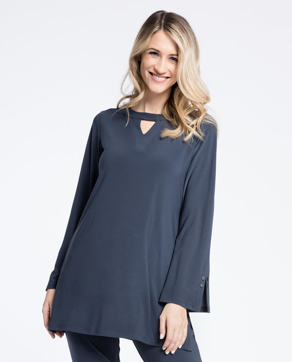 Sympli 23147 Icon Mod Tunic Long Sleeve