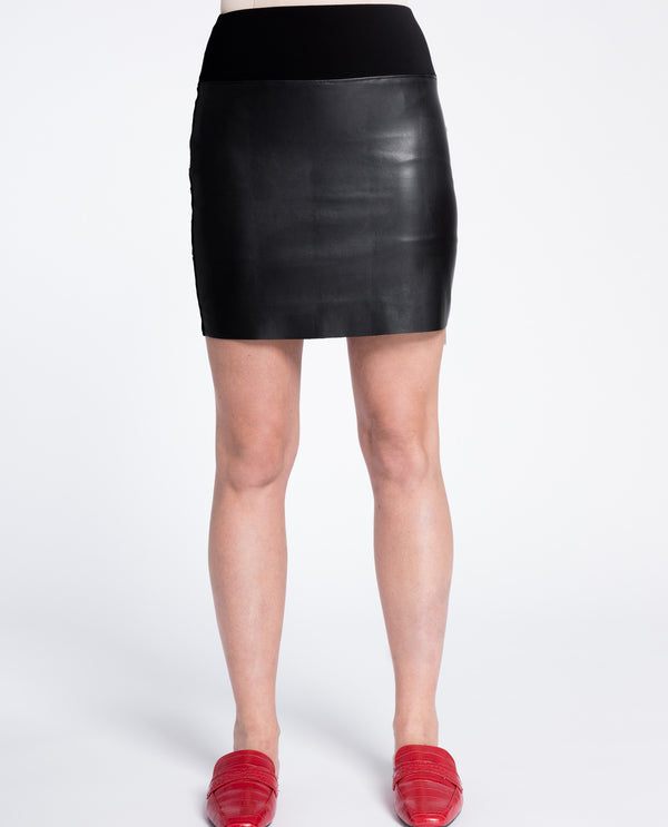 Sympli 2678 Frame Mini Skirt
