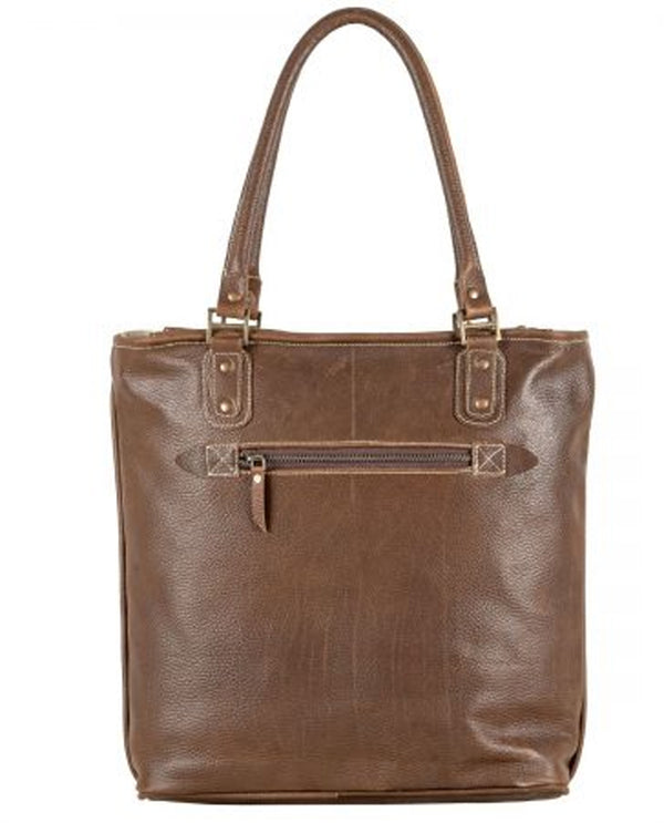 Sixtease 2503 Leather Hairon Tote