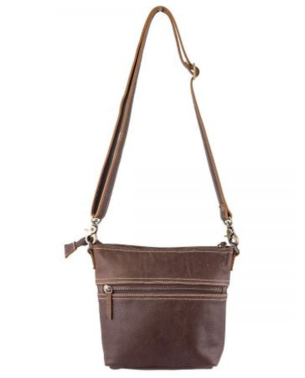 Sixtease 2515 Leather Hairon Small Crossbody