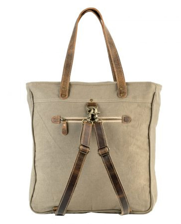 Sixtease 3074 Ivory Tote Pack