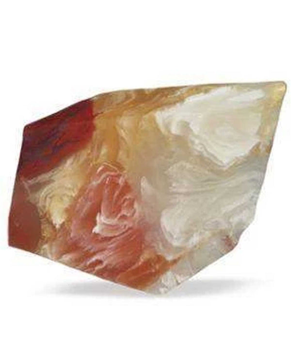 Soap Rocks Carnelian Soap 6 oz hand crafted soap with caramel apple scent