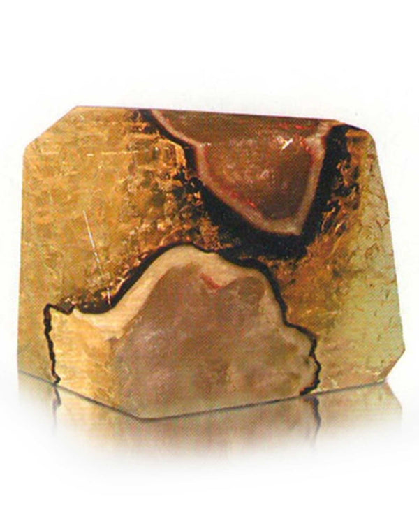 Soap Rocks Septarian Geode Soap 6 oz hand crafted soap with a rustic scent