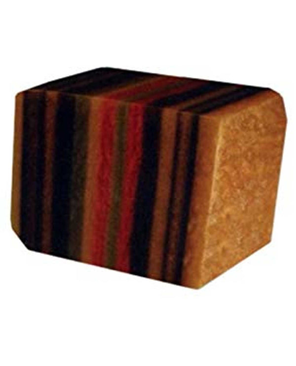 Soap Rocks Tiger's Eye Soap 6 oz hand crafted soap with a tigers eye design