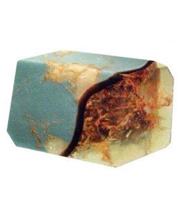 Soap Rocks Turquoise Soap 6 oz hand crafted soap made to look like a precious gemstone