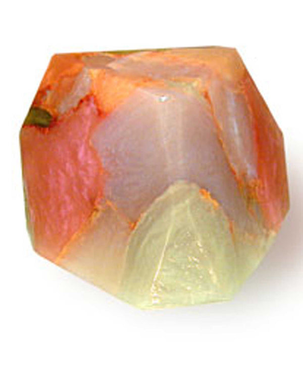 Soap Rocks White Opal Soap 6 oz handcrafted soap made to look like a gemstone