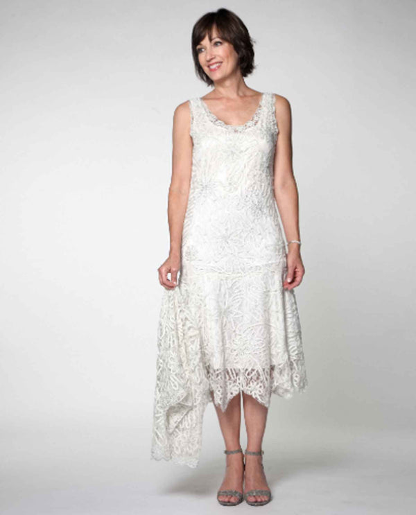 64b1fd68ae8 Soulmates 1501 2 Piece Lace Dress ivory lace mother of the bride dress with  matching jacket ...