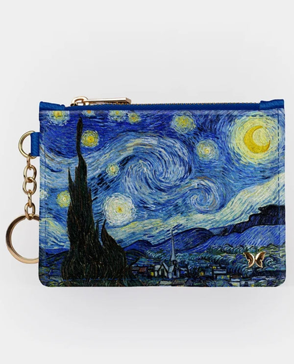 Starry Night Key chain Wallet