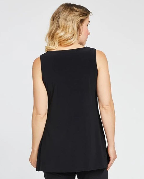 Sympli 21151 Sleeveless Nu Ideal Tunic black