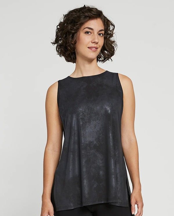 Sympli 21164 Storm Sleeveless Nu Ideal Pewter foil