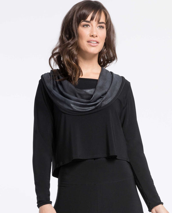 Sympli 22193 Storm Shorty Cowl Top