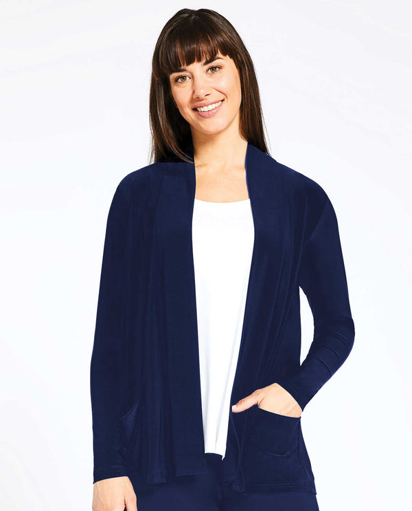 Sympli 25112 Go To Cardigan Short navy