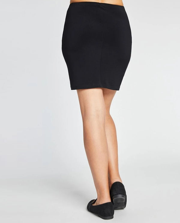 Sympli 2641 Mini Skirt black