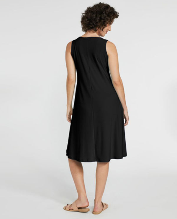 Sympli 28106Y Halo Tank Dress black