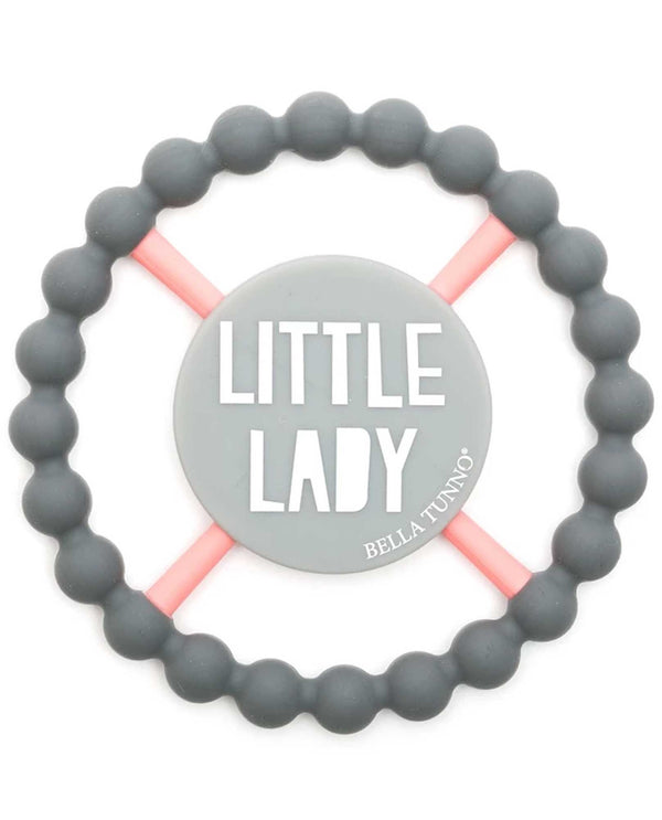 Bella Tunno TE74 Little Lady Teether Grey