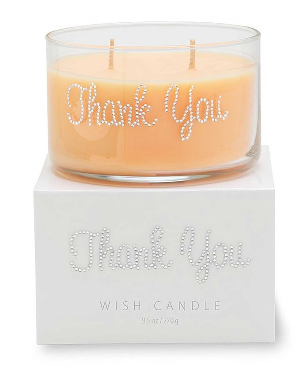 Thank You Wish Candle