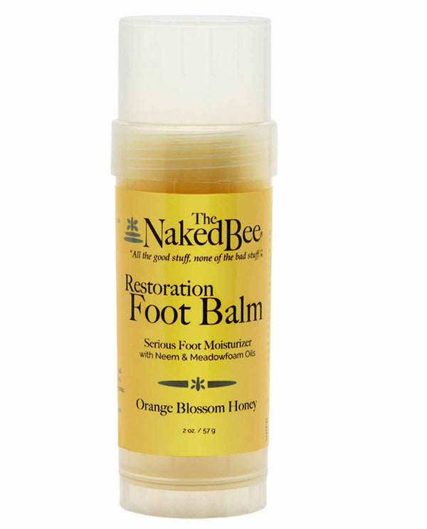 The Naked Bee Foot Balm Twist Up 2 oz