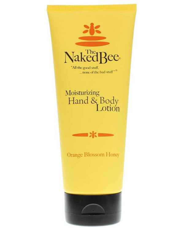 The Naked Bee Orange Blossom Hand & Body Lotion 2.25oz organic hand and body lotion