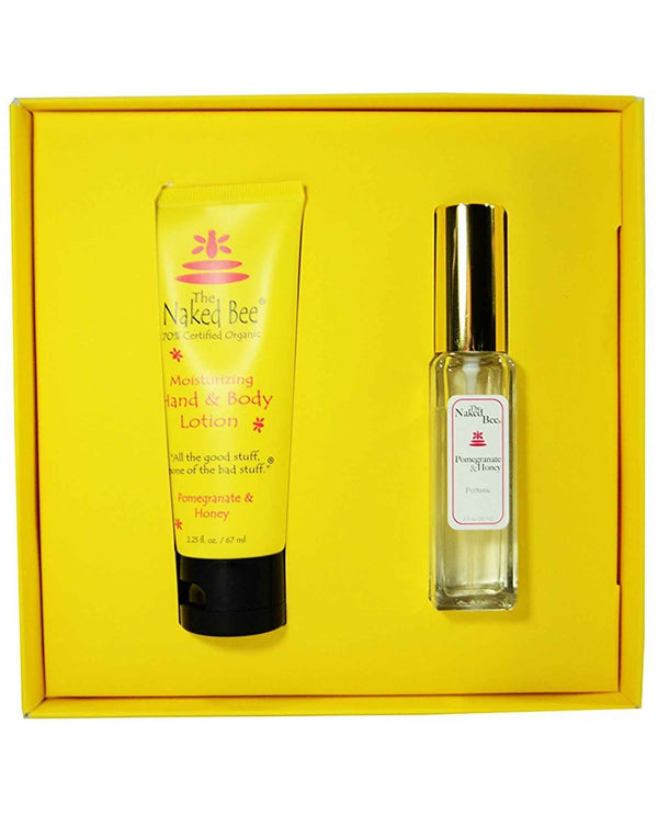 The Naked Bee Pomegranate Gift Set