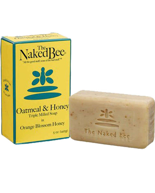 The Naked Bee Oatmeal Honey Soap 5oz