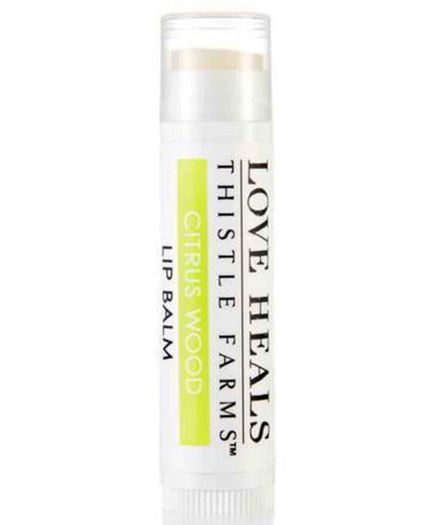 Citrus Wood Thistle Farms Lip Balm soothing lip balm