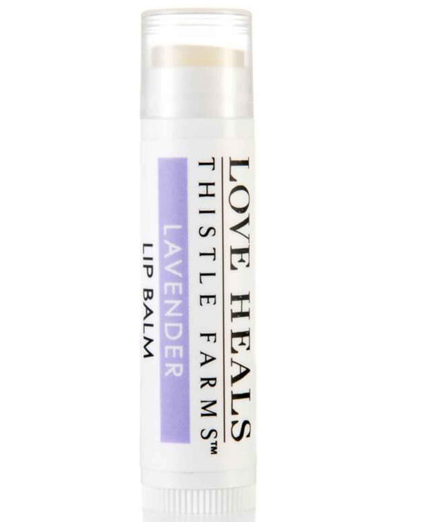 Lavender Thistle Farms Lip Balm soothing lip balm