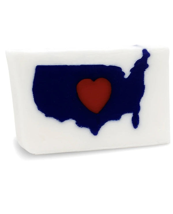 Primal Elements SW2IHUSA I Heart USA Bar Soap