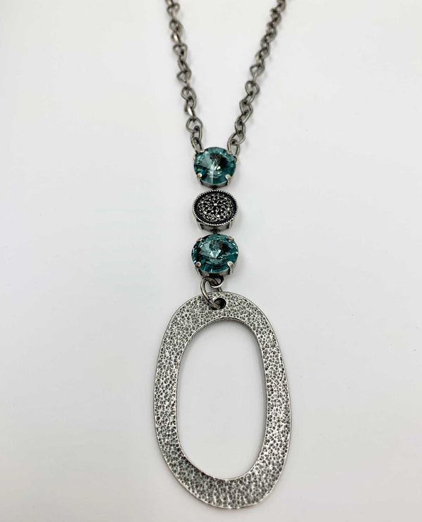Venus Lux Chain Necklace By Rachel Marie Designs Indian Sapphire