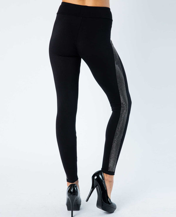 Vocal 18177P Leggings with Stones