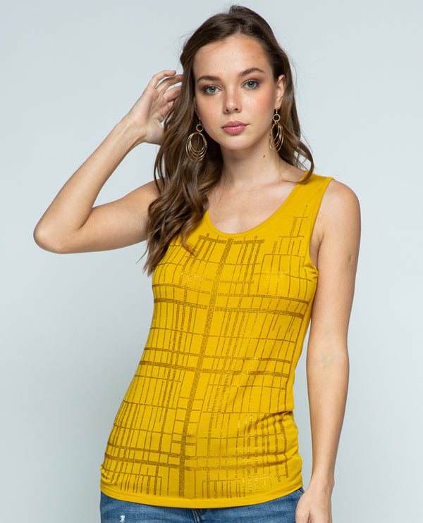 Vocal 1855OT Basic Tank with Stones Mustard