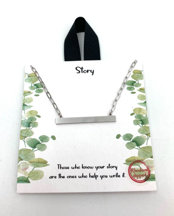Your Story Necklace silver