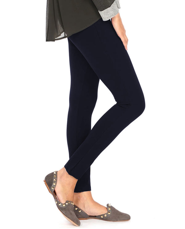 MIDNIGHT NAVY Multiples M30710PM Knit Ankle Legging
