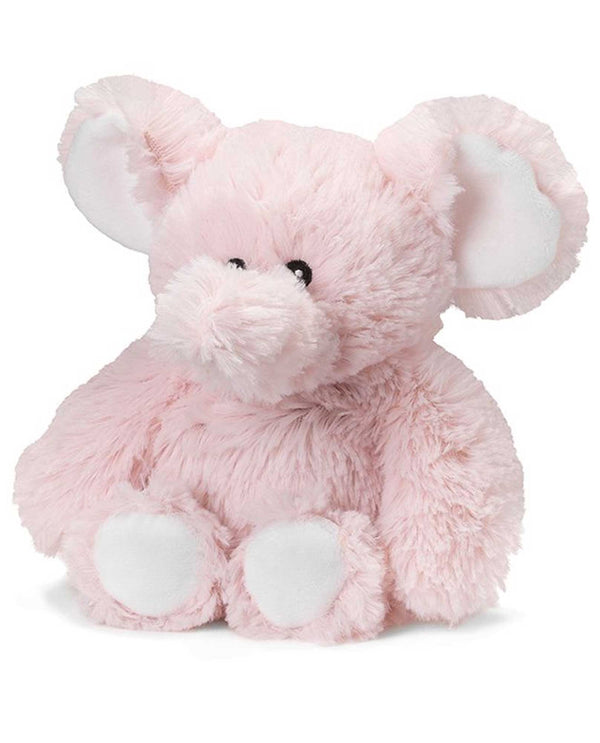Warmies CP-ELE Pink Elephant plush pink elephant filled with French lavender scent for all ages