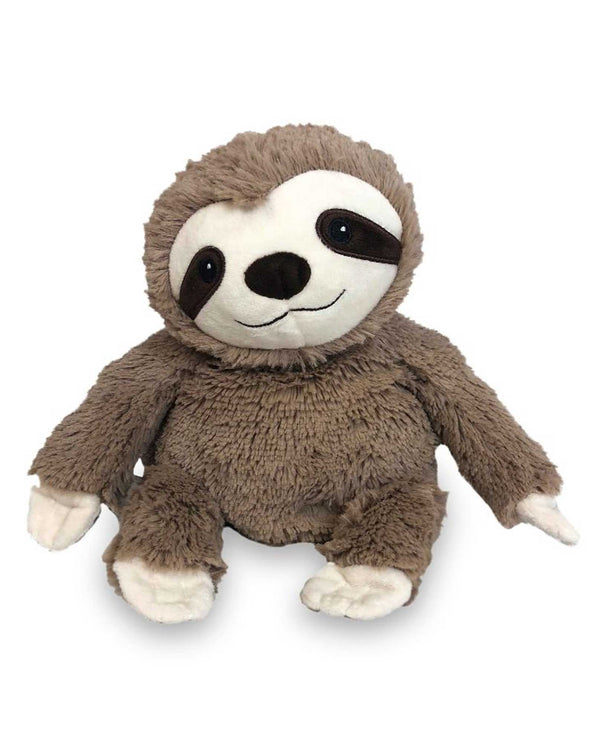 Warmies Sloth adorable fuzzy sloth gently scented with french lavender