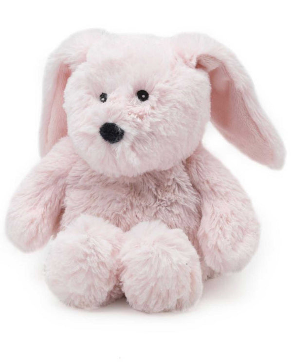 Warmies CPJ-BUN Pink Bunny Jr plush pink bunny filled with French lavender fragrance