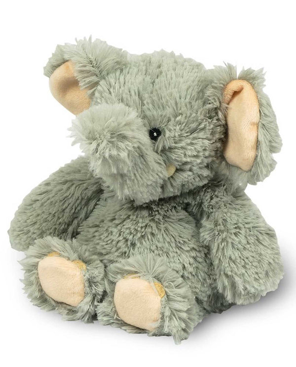 Warmies CPJ-ELE-1 Elephant Jr. plush elephant filled with French lavender fragrance for all ages