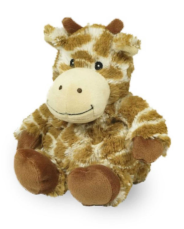 Warmies CPJ-GIR Giraffe Jr plush giraffe filled with a French lavender scent for all ages