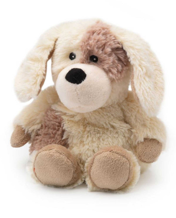 Warmies CPJ-PUP-1 Puppy Jr plush puppy filled with French lavender fragrance for all ages