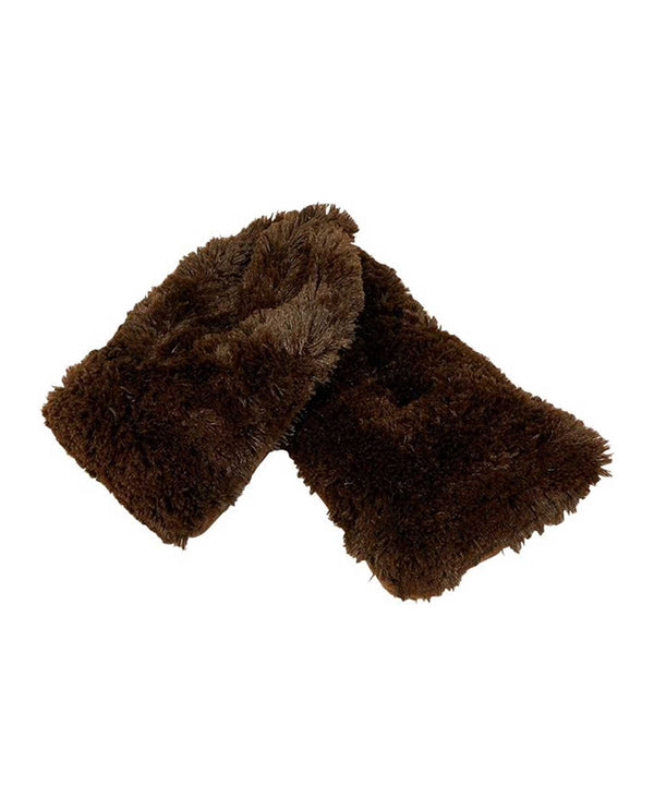 Warmies CPW Plush Neck Wrap brown fuzzy microwavable neck wraps