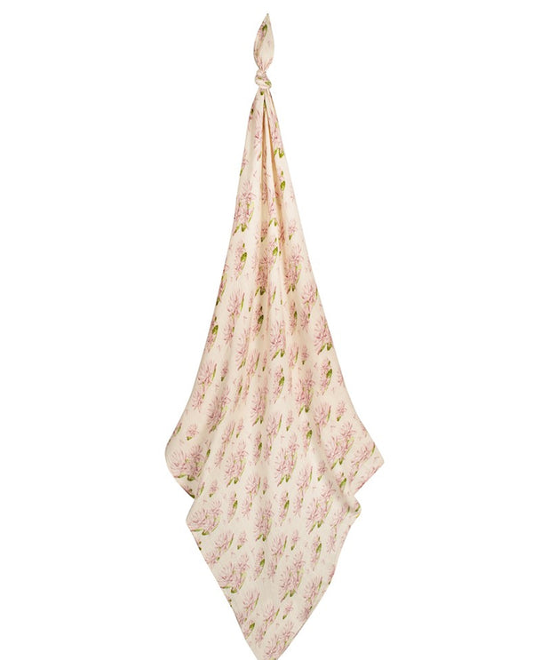 Milk Barn 63112 Water Lily Bamboo Swaddle
