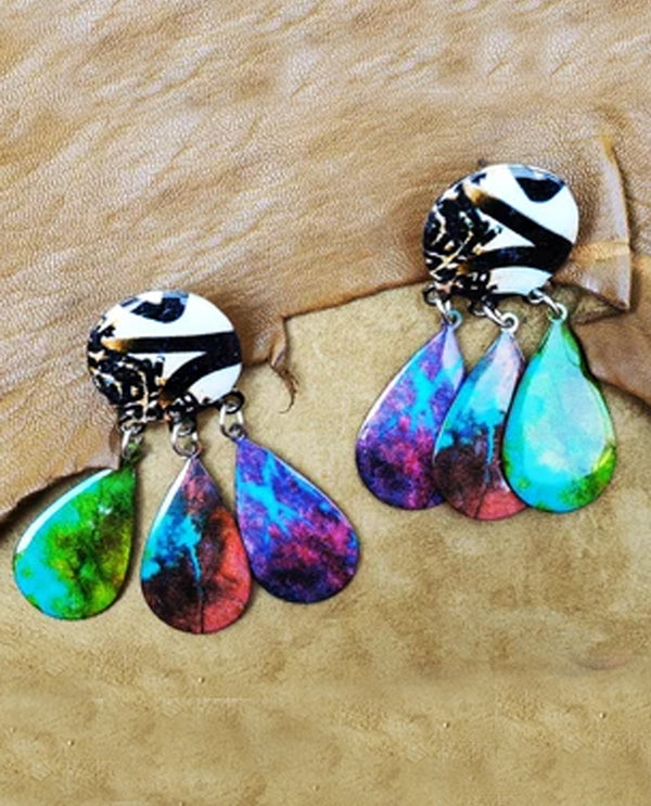 Treska ALLE9251 Post Teardrop Earring
