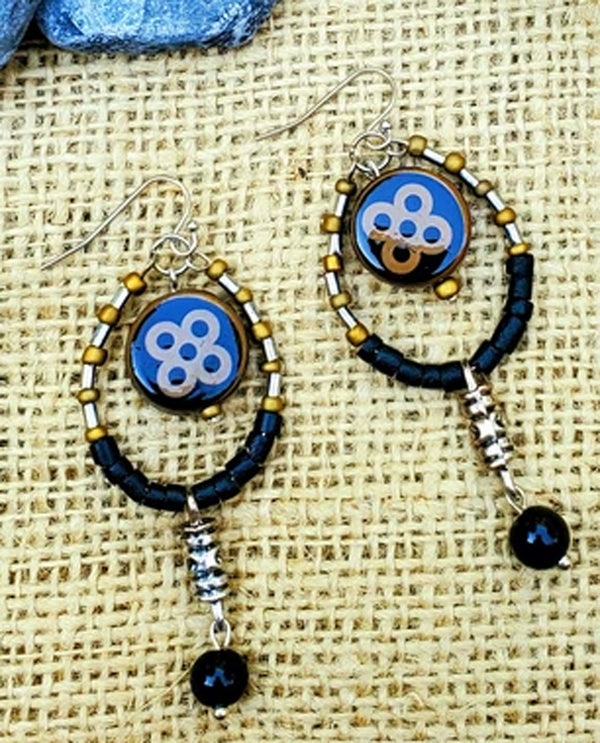 Treska CAR0031 Hoop Drop Earring