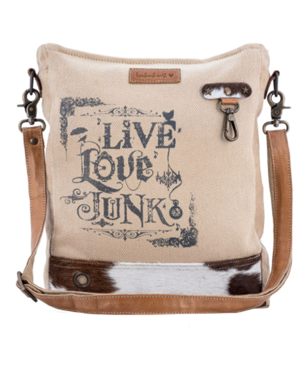 Sixtease 2008 Live Love Junk Shoulder Bag