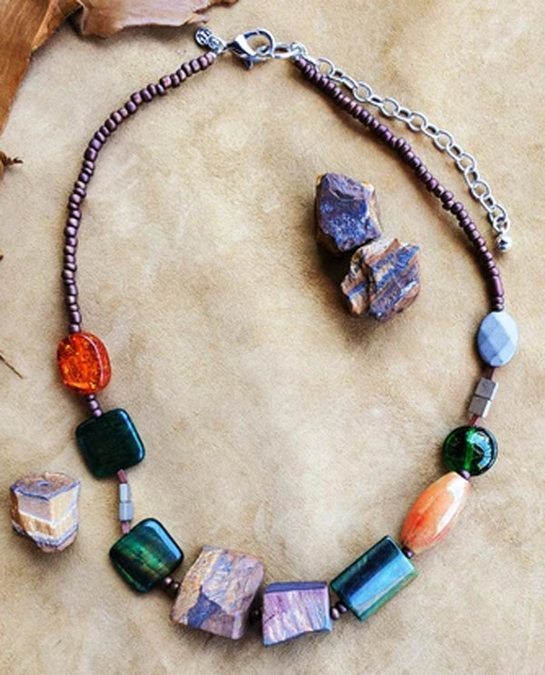 Treska STR1367 Chunky Beaded Necklace