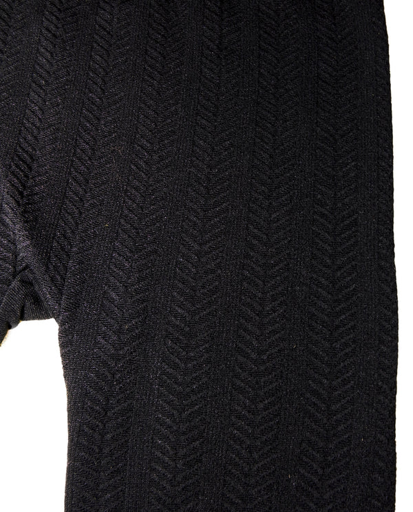Cable Knit Fleece Lined Legging