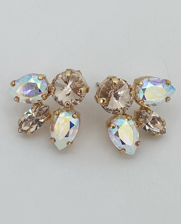 Rachel Marie Designs Cluster Earrings Gold