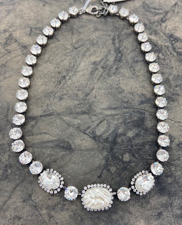 RACHEL MARIE DESIGNS Laurie Necklace PEARL